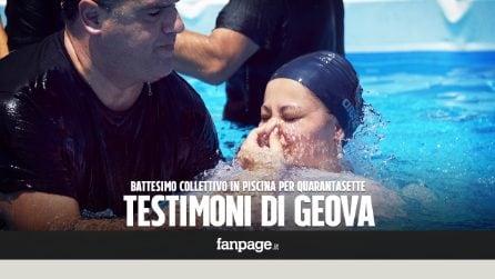 """Testimoni di Geova, a Roma battesimo in piscina davanti a 10mila persone: """"Ecco perché lo facciamo"""""""