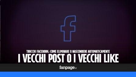 Trucchi Facebook: eliminare vecchi post e vecchi like