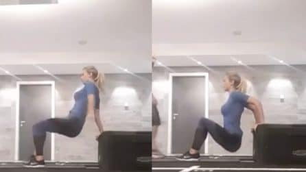 I duri allenamenti di Diletta Leotta per tenersi in forma