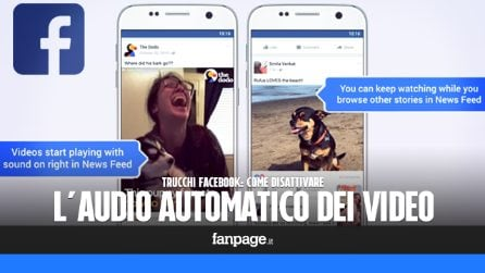 Trucchi Facebook: disattivare l'audio automatico per i video su Facebook