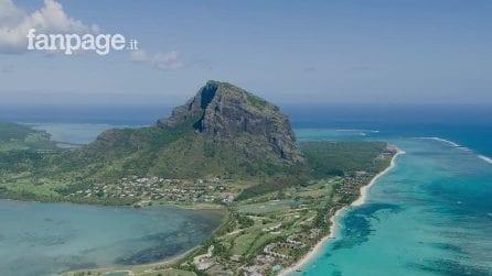 Si trova a Le Morne alle Mauritius la cascata sottomarina più incredibile del mondo