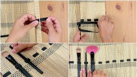 Come fare un kit da viaggio con una tovaglietta per sushi