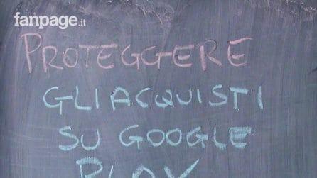 Attivare l'impronta digitale come autenticazione nel Google Play