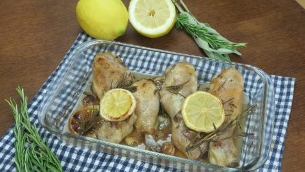 Pollo al limone: così saporito e morbido non l'avete mai provato!