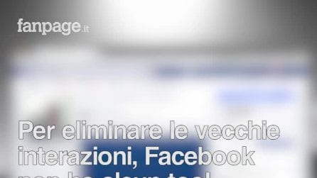 Eliminare i vecchi post e i vecchi like su Facebook