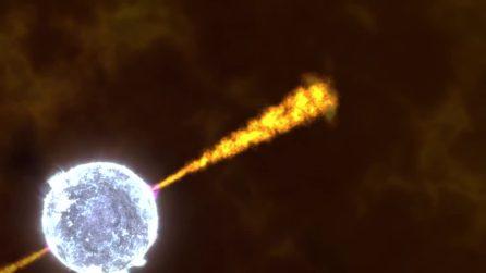 La potenza catastrofica dei lampi gamma