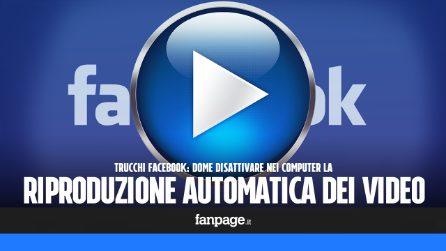 Trucchi Facebook: bloccare la riproduzione automatica dei video nel computer