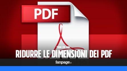 Ridurre le dimensioni di un PDF in maniera del tutto gratuita