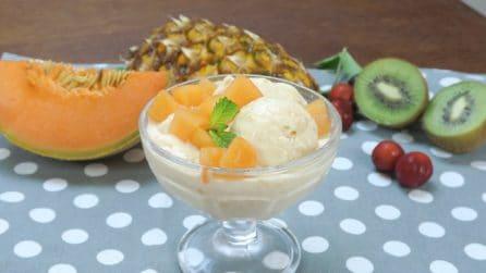 Gelato istantaneo alla frutta: il trucco per farlo in casa senza gelatiera!