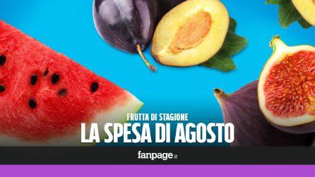 La frutta di stagione: cosa comprare ad agosto