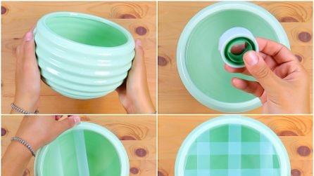 Mette il nastro adesivo sul vaso: l'idea geniale da provare subito