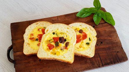 Pane ripieno di frittata: la ricetta originale che piacerà a tutti
