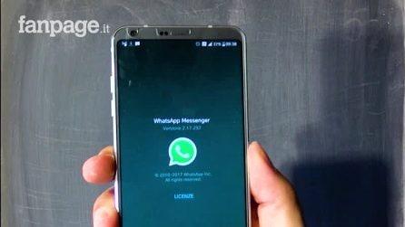 I nuovi filtri fotografici di WhatsApp per Android