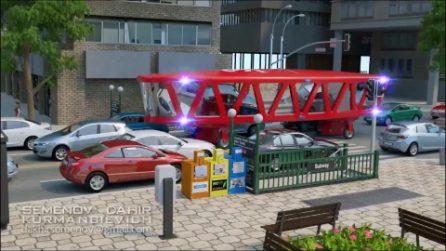 Dimenticate ambulanze e vigili del fuoco: questo è il futuro dei mezzi di pronto soccorso