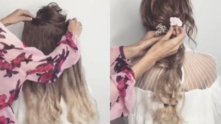 Aggiunge le extension ai capelli della bambina: la pettinatura finale è bellissima