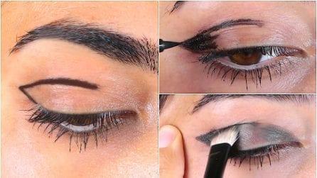 Mette l'eyeliner in questo modo: il trucco per un perfetto smokey eyes