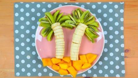 Frutta creativa: l'idea perfetta per tutti i bambini