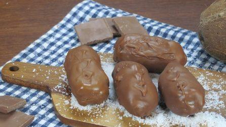 Cioccolatini al cocco: non potrete più farne a meno!