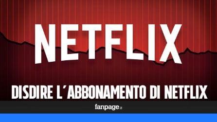 Come disattivare (e disdire) Netflix