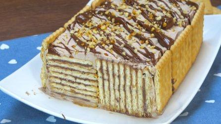 Tronchetto di biscotti: il dolce goloso e originale che vi stupirà