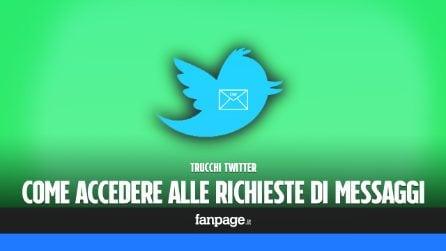 """La cartella """"nascosta"""" di Twitter, dove troverai I messaggi ricevuti ma non notificati"""
