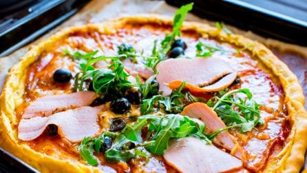 Pizza Flambeé