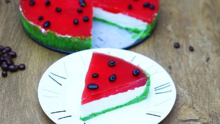 Watermelon Cheesecake