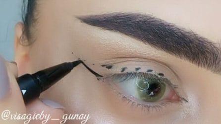 Come applicare l'eyeliner senza sbavature: la tecnica per una linea perfetta