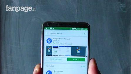 Come guadagnare credito nel Google Play rispondendo ai sondaggi