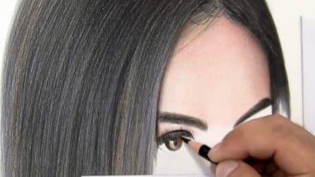 Come disegnare occhi realistici a matita: l'artista mostra il suo straordinario talento