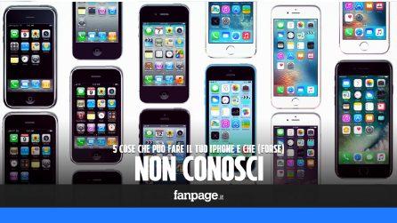 5 cose che può fare l'iPhone e che (forse) non conosci