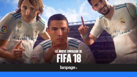 Il nuovo video di FIFA 18 (con Zinedine Zidane)