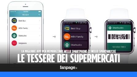 La migliore app per memorizzare le tessere dei supermercati nello smartphone