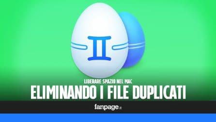 Recuperare spazio nel Mac eliminando i file duplicati