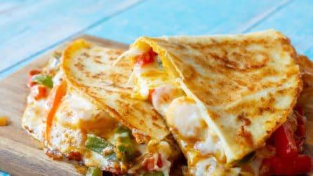 Quesadilla ai peperoni: buona, veloce e piena di gusto!