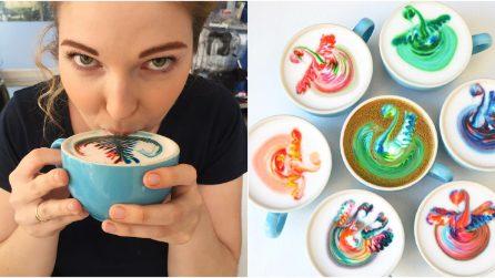 Quando preparare cappuccini diventa un'arte: le meravigliose creazioni di Emily Coumbis!