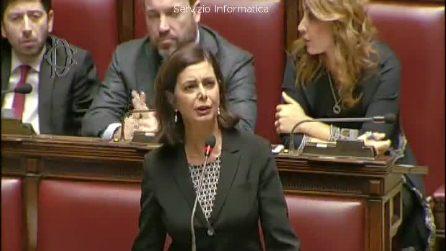 """Boldrini contro Salvini: """"Mi ha paragonato a una bambola gonfiabile, si vergogni"""""""