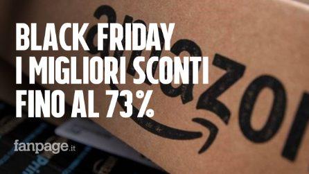 Settimana del Black Friday 2018: ecco i migliori sconti fino al 73%