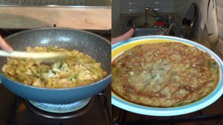 Frittata di carciofi: il piatto pronto in pochi minuti e delizioso