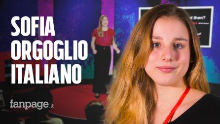Sofia Guidi parla di violenza domestica al Ted di New York: è la prima italiana al mondo