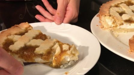 Crostata di marmellata e ricotta: la friabilità della pasta frolla con un ripieno gustoso