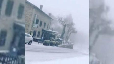 Brianza, arriva la neve: il paesaggio diventa un incanto