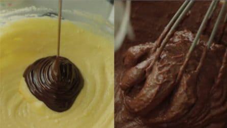 Cheesecake ricotta e cioccolato: l'incontro tra la friabilità dei biscotti e una crema unica