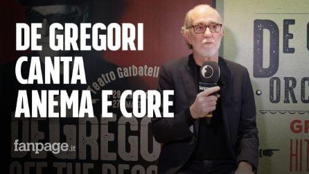 """I progetti 2019 di De Gregori e i complimenti ad Anastasio: """"Ci vuole talento per rifare Generale"""""""