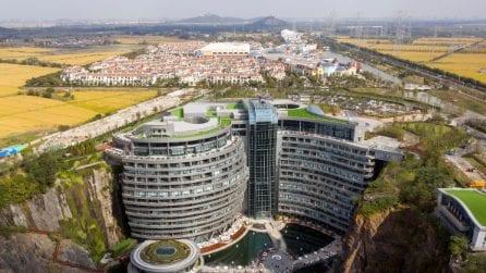 Intercontinental Shanghai Wonderland, uno degli alberghi più profondi del mondo