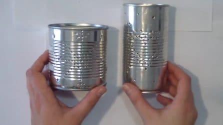 Come riciclare i barattoli di latta: l'idea strepitosa per il Natale