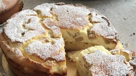Torta ricotta e pere: il dessert delizioso al quale è impossibile rinunciare