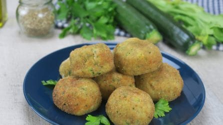 Zucchini and ricotta balls: follow these few, simple steps to make them creamy and tasty!