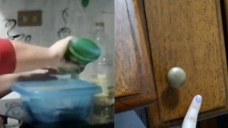Come pulire la cucina in legno: il metodo ottimo per non rovinarla