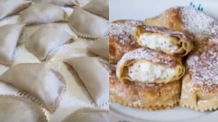 Cappiddruzzi con ricotta: la ricetta dei deliziosi dolcetti siciliani